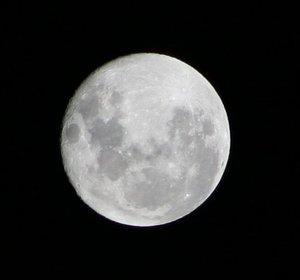 चंद्रमा दक्षिणी गोलार्ध मे(सीडनी)