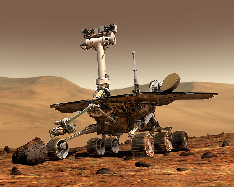 NASA_Mars_Rover SPIRIT