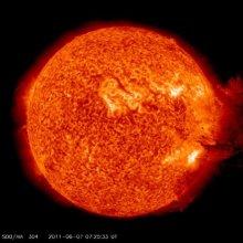 हमारा अपना सूर्य और उसकी सौर ज्वाला