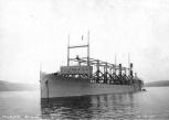 अक्टूबर 3,1911 को हडसन नदी मे यु एस एस सायक्लोप्स
