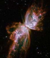 हबल द्वारा ली गयी तितली निहारीका( Butterfly Nebula) का चित्र