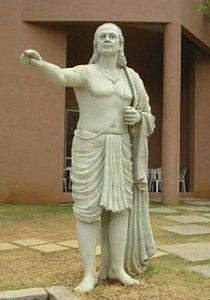 पुणे में आर्यभट की मूर्ति