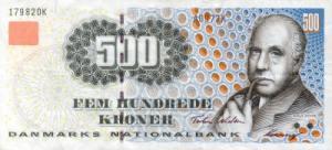 निल्स बोर(Niels Bohr) डेनिश क्रोनर