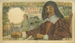 रेने देस्कार्तेश(René Descartes) फ़्रेंच फ़्रेंक्स