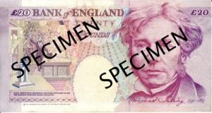 माइकल फ़ैराडे(Michael Faraday) ब्रिटिश पौंड