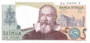 गैलेलीओ गैलीली(Galileo Galilei) इटालीयन लीरा