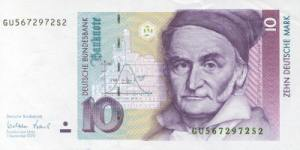 कार्ल फ़्रेडरिक गास(Carl Friedrich Gauss) ड्युस मार्क