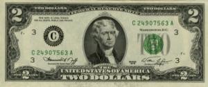 थामस जेफ़रसन(Thomas Jefferson) अमरीकी डालर