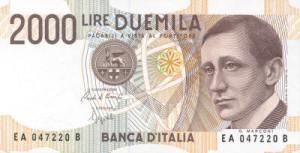 गुग्लीएल्मो मार्कोनी(Guglielmo Marconi) इटालीयन लीरा