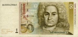 जान बाल्थासार न्युमन(Johann Balthasar Neumann) ड्युश मार्क