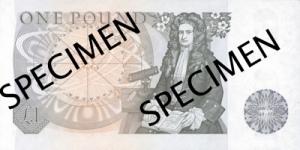 सर आइजैक न्युटन(Sir Isaac Newton) ब्रिटिश पौंड
