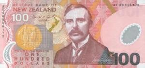 लार्ड अर्नेस्ट रदरफ़ोर्ड(Lord Ernest Rutherford) न्युजीलैंड डालर
