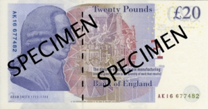 एडम स्मिथ(Adam Smith) ब्रिटिश पौंड