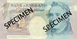 जार्ज स्टीफ़न्सन(George Stephenson) ब्रिटिश पौंड