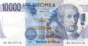 अलेसान्द्रो वोल्टा(Alessandro Volta) इटालीयन लीरा