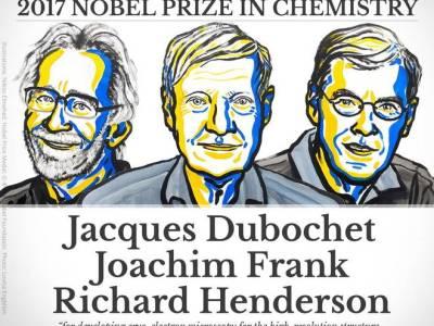 जाक डुबोशे(Jacques Dubochet), योआखिम फ्रैंक(Joachim Frank) और रिचर्ड हेंडरसन(Richard Henderson)