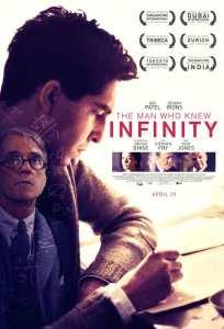 द मैन हू न्यू इनफिनिटी फ़िल्म का पोस्टर