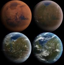 मंगल की टेराफ़ार्मिंग