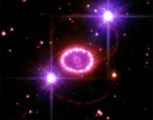 SN 1987A सुपरनोवा के अवशेष