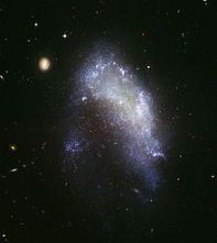 NGC 1427A. एक Irr आकाशगंगा
