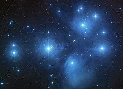 कृतिका तारापुंज(The Pleiades)