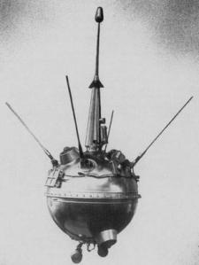 लूना 2 की एक प्रतिकृति